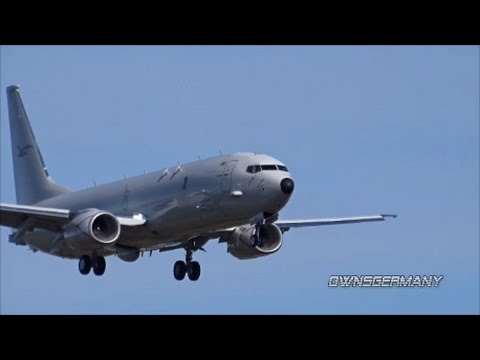 Royal Australian Air Force 1st Boeing P-8A Touch n' Go & Missed Approach @ KPAE Paine Field