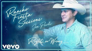 Jon Pardi Right Or Wrong
