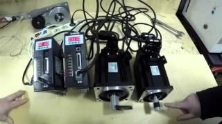 Сервоприводы 110ST-M06030 и 130ST-M10025, включение