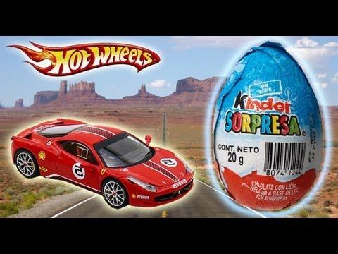Kinder Surprise Hot Wheels Toy Story Buzz Lightyear Monsters Inc. Mario Bros Lightning McQueen