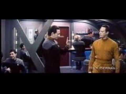 Star Trek Nemesis Deleted Scene II  With Added VFX