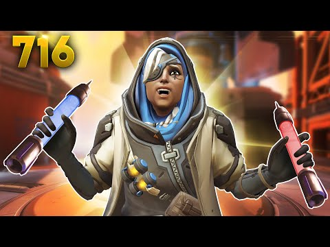 2 TYPES Of Sleep Darts!! | Overwatch Daily Moments Ep.716 (Funny and Random Moments) thumbnail