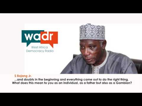 Interview with the IEC Chairman, Alieu Moumar Njie by Sheriff Bojang Jr of WADR