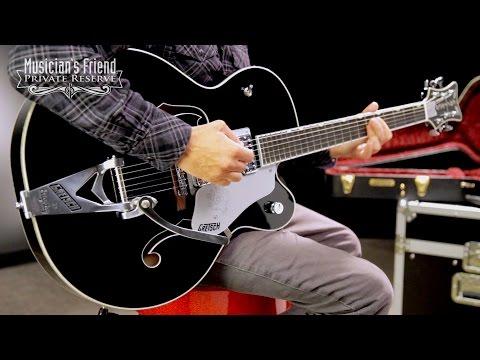 Gretsch Guitars G6136SLBP Brian Setzer Black Phoenix Semi-Hollow Electric Guitar