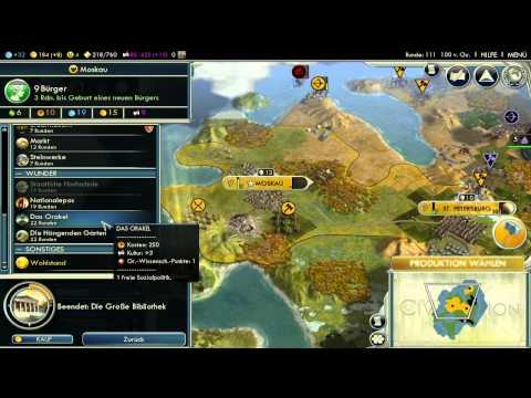 Let's Play Civilization 5 HD Part 13 - die Zeitrechnung beginnt |