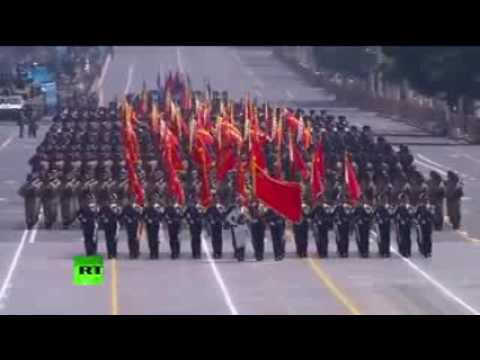 China Victory Day - Military parade in Beijing _ 2015
