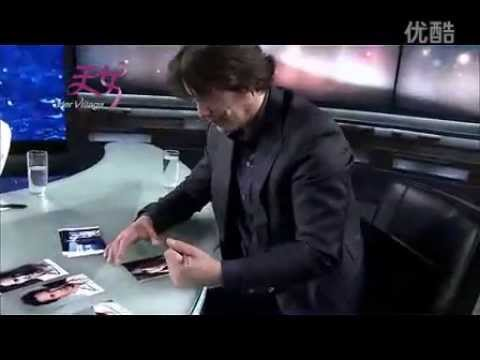 """2013 July 7 Interview Yang Lan interview with """"atypical"""" Hollywood star Keanu Reeves"""