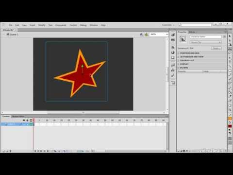 Adobe Flash CS6: The 3D Rotation and Translation Tools 25 Learn ByVideo