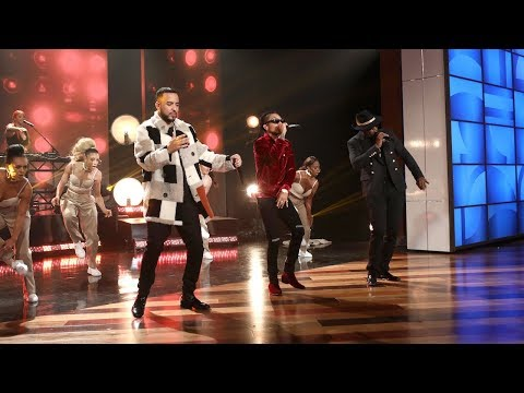 French Montana Performs with Sean 'Diddy'...
