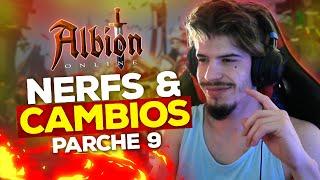 ¡NERFS Y CAMBIOS! ACTUALIZACIÓN PARCHE 9 🔥 Albion Online Español