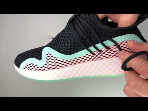 adidas-deerupt-s-'cblack/clear-orange/ftwr-white'-|-unboxing-&-on-feet-|-fashion-sneaker-|-2019