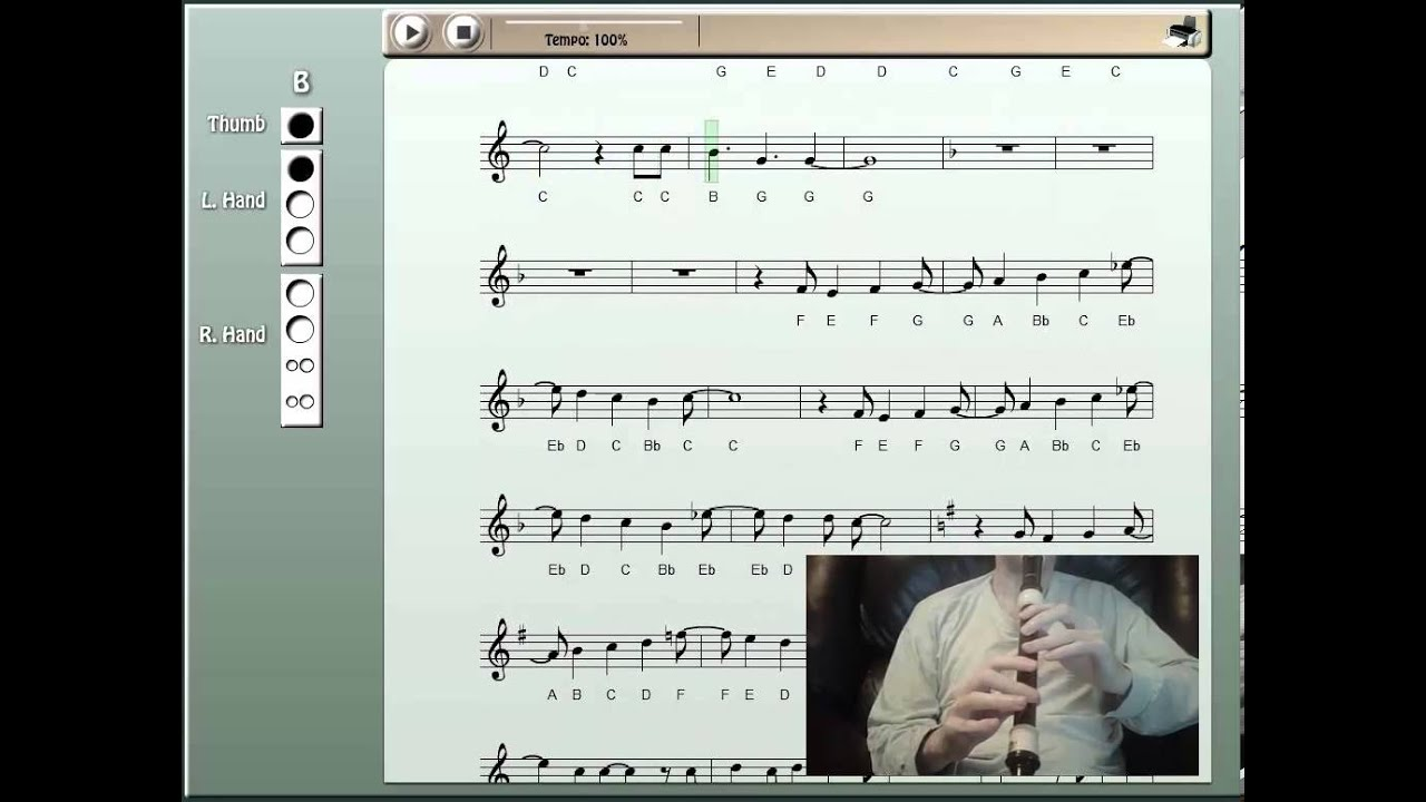 let her go piano notes pdf