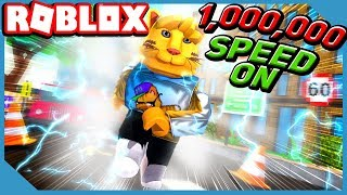 Becoming The Fastest Cat in Roblox Speed Simulator