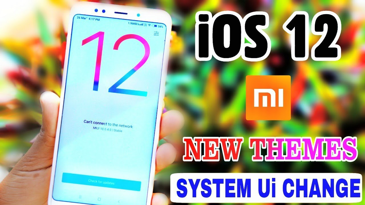 NO 1 iOS 12 THEMES For MIUI 10 | Some New Feautures Unlocked