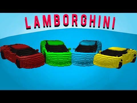 [FR]Lamborghini NO MOD ONE COMMAND 1.8.9 [MINECRAFT]