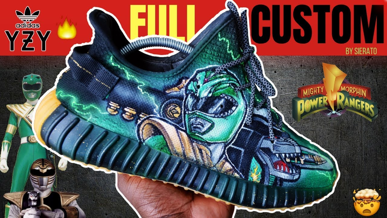 check out b8b26 22993 Full Custom   Power Ranger Yeezy 350 V2s by Sierato