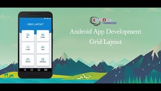 Android Studio Tutorial - Grid Layout and CardView