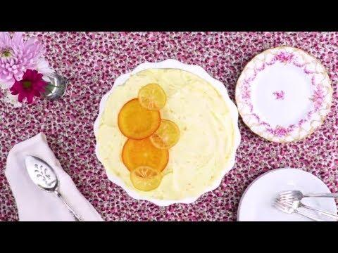 Lemon-Orange Chiffon Cake | Southern Living