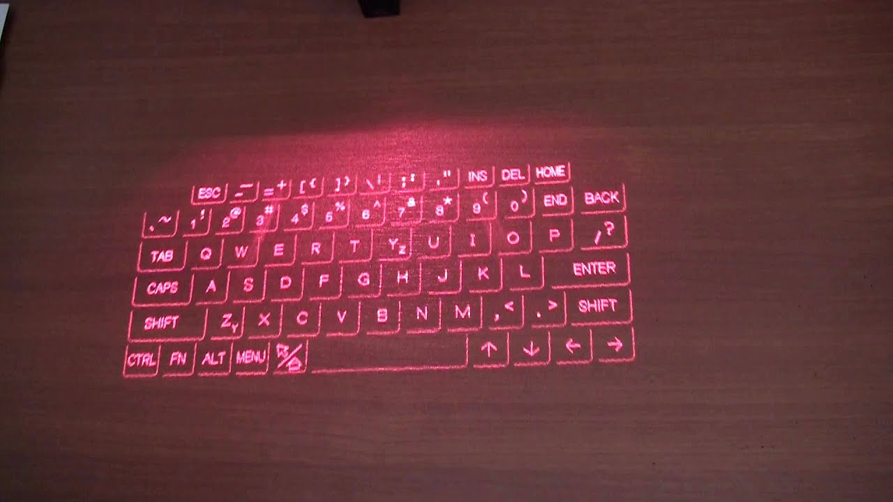 Celluon Epic Projection Keyboard Unboxing