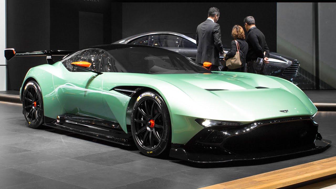 Aston Martin Vulcan Geneva Motor Show 2015 Hq Youtube