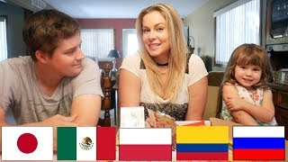 AMERICANS TRY SNACKS FROM AROUND THE WORLD
