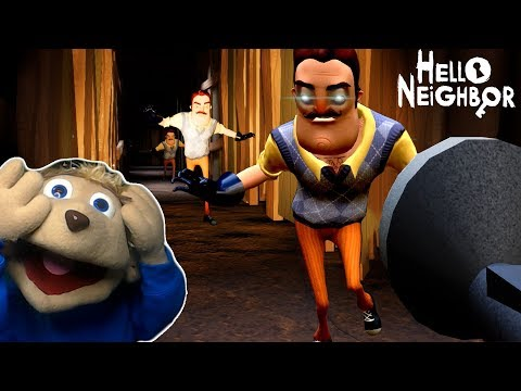 WHY DOES THE NEIGHBOR HATE CHIPMUNKS | Hello Neighbor (ACT 1 ENDING)