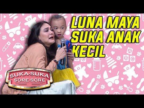 Luna Maya Senang Banget Lihat Anak Kecil Imut - Suka Suka Sore Sore (11/1) PART 1