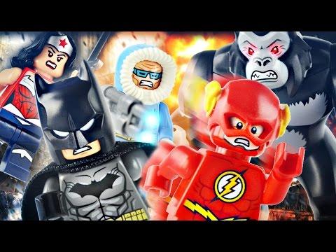 "LEGO DC Super Heroes : 76026 ""Gorilla Grodd Goes Bananas"" - Review"