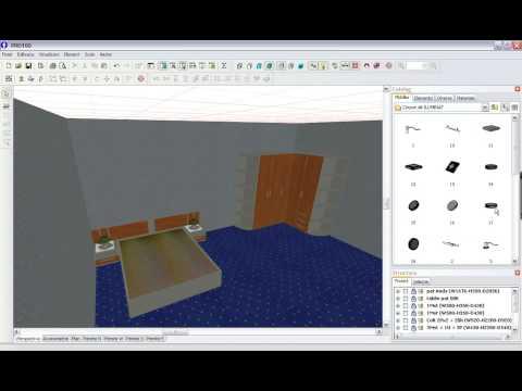 Pro100 Program Profesional 3d Pentru Proiectare Mobilier Si Amenajari Interioare Youtube