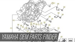 Yamaha Motorcycle and ATV OEM Parts Finder