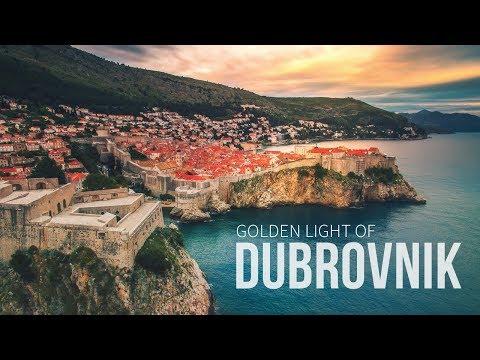 Golden Light of Dubrovnik - Croatia | Aerial DJI Drone cinematic Short Film