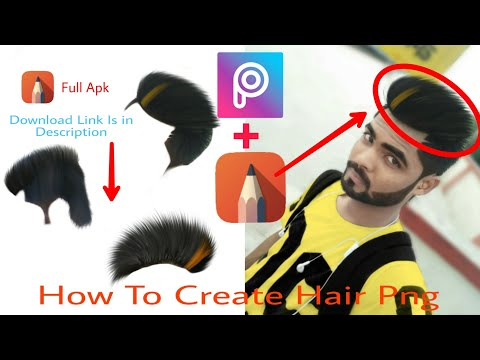 How To Create Hair Png Picsart Autodesk Editing Tutorial