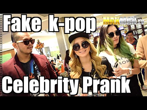 Girls Generation (SNSD) Fake Korean Celebrity Girl Band Prank - Maxmantv