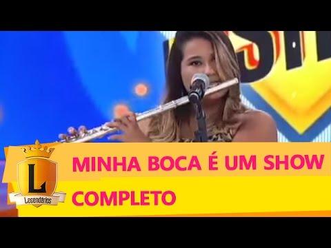 Minha Boca É Um Show: candidata faz beatbox e toca flauta ao mesmo tempo