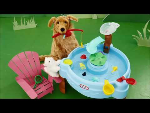 Toys R Us UK Toys Unboxing Toys  Little Tikes Fish & Splash Table