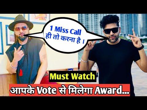 Guru Randhawa And Yo Yo Honey Singh Nominat For Mix Audience Music Award   Please Vote And Support  