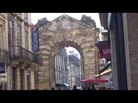 A day in enchanting Bordeaux,France,22nd March 2016