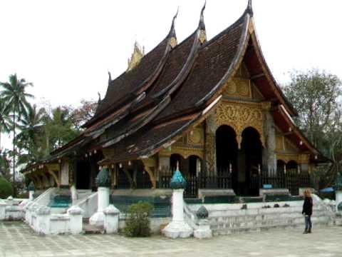 Luang Prabang Wat Xieng Thong video