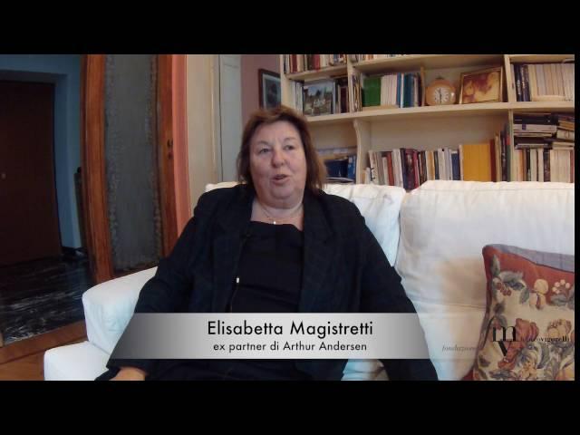 Elisabetta Magistretti, ricordi di un guerriero