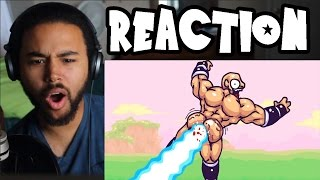 Dragon Ball Zee PART 1 (SSJ Carter Reaction)