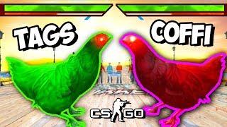 COFFI VS TAGS - КУРИНАЯ БИТВА В CS:GO! ЧТО ЭТО ЗА НАРКОМАНИЯ (ЭПИК, УГАР)