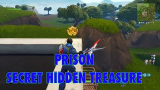 Fortnite Secret Battle Pass Treasure Location Season 4 (hidden 10 star treasure at prison)