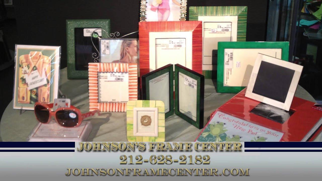 Custom Framing & Picture Frames in New York City | Johnsons Frame ...