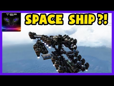 Crossout #91 ► SPACE SHIP DESIGN?! How to Fly into Space using Hovers !