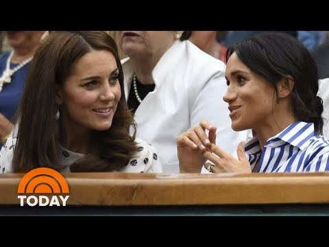 Kate Middleton And Duchess Meghan Feuding? Royals Fend Off Rumors | TODAY