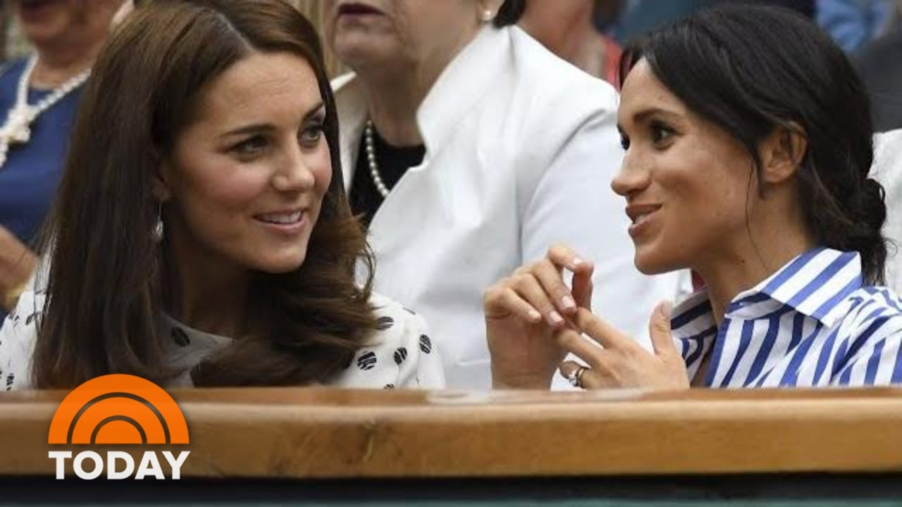Duchess Kate And Duchess Meghan Feuding? Royals Fend Off Rumors   TODAY