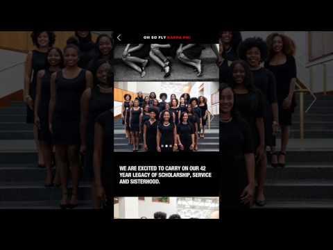 Kappa Phi 2016-17 Canvas Post
