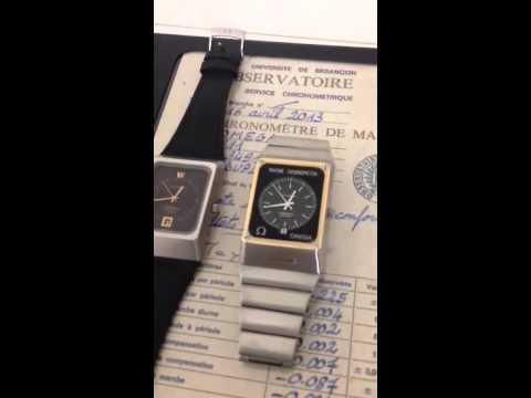 Omega stardust vs marine chronometer