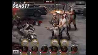 Walking Dead : Road to Survival - SAVIORS Part 3, ACT 3 Stages 1 - 2