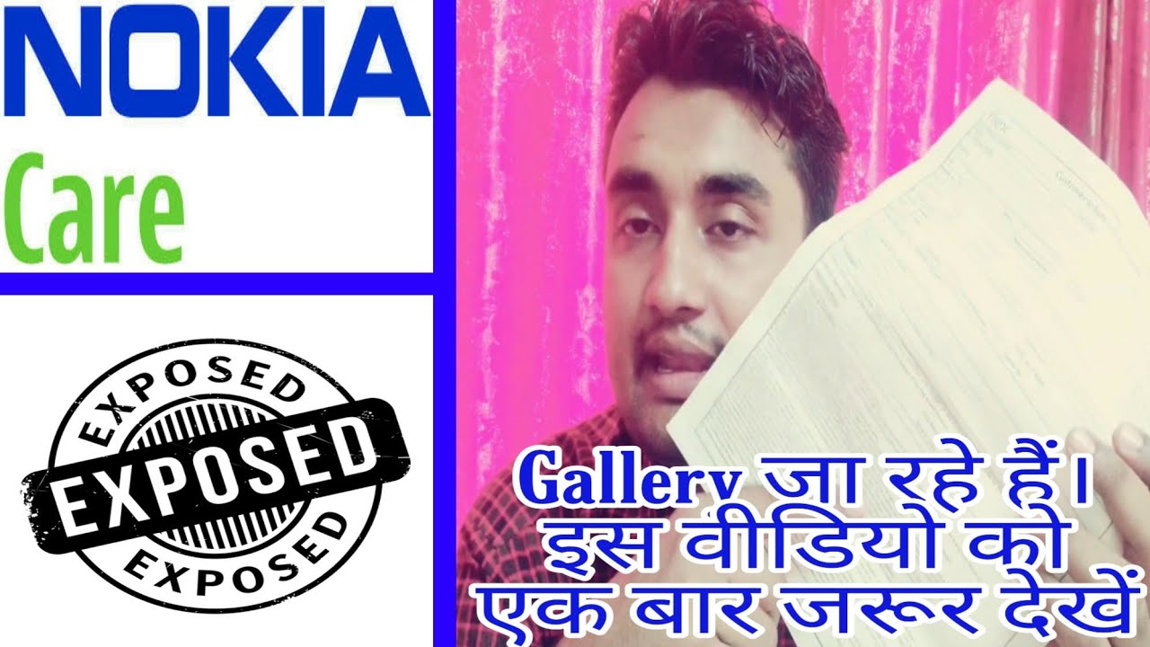 Nokia 6 1 plus charging issue visiting Nokia care what happened See Nokia  care (gailary) exposed